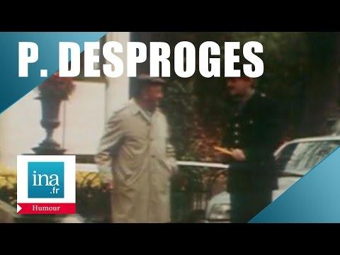 Pierre Desproges, caméra cachée aux Buttes Chaumont - Archive INA