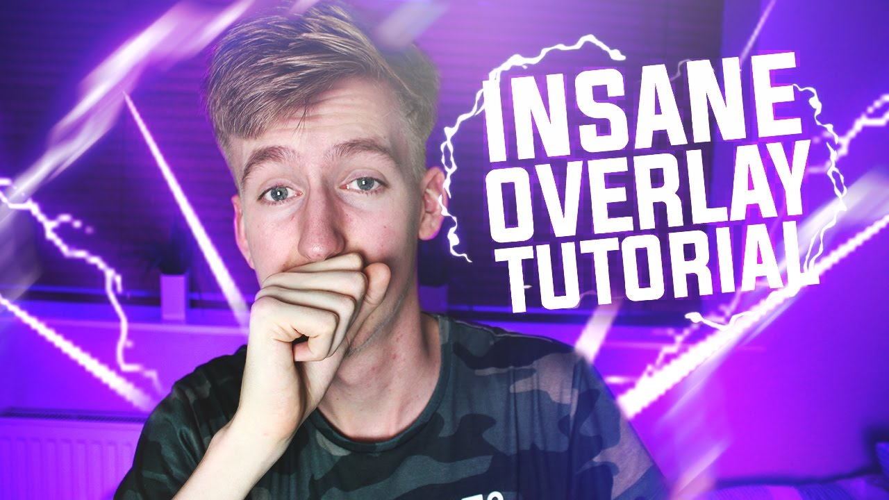 How To Make An EPIC Youtube/Twitch Overlay In Photoshop (2017) + FREE  TEMPLATE DOWNLOAD