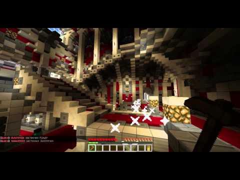 видео: битва на мотыгах на сервере в minecrafte!!!