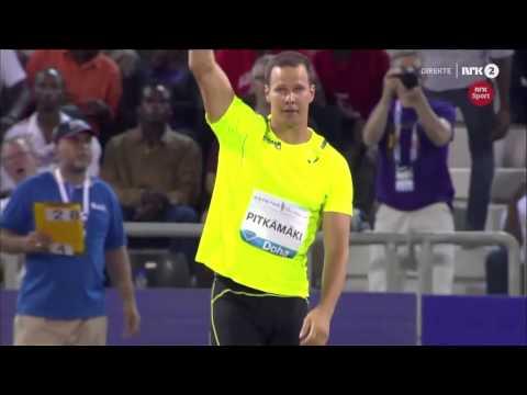 Tero Pitkämäki 88,62M WL - Doha 2015