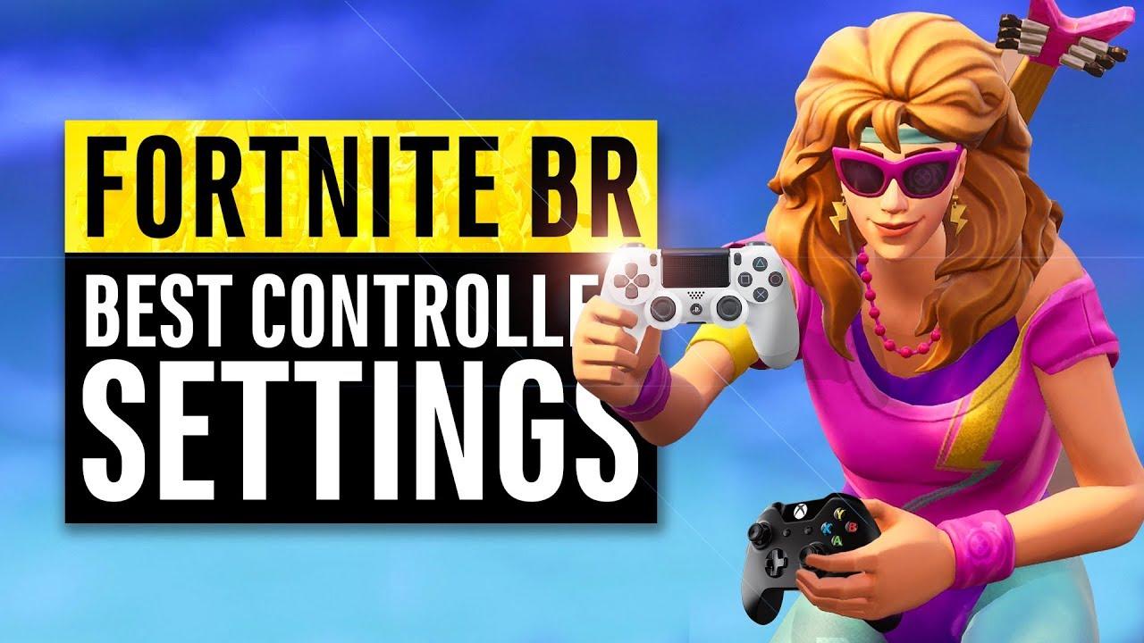 Fortnite BR | Best Controller Settings (Sensitivity Guide)