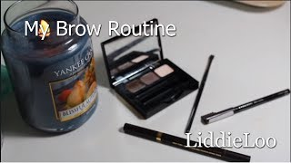 My Brow Routine | LiddieLoo Thumbnail