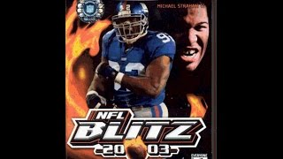 Andy Plays NFL Blitz 2003 Gamecube Episode 1