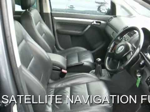 FOR SALE VW TOURAN 2.0 TDI SPORT SATELLITE NAVIGATION FULL LEATHER SUNROOF