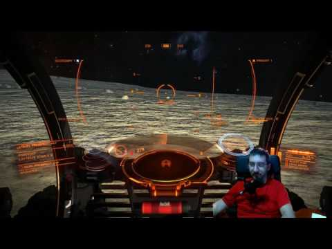 Elite Dangerous: Adrenaline pumping attack on Pirate Colony Base and Near Death Escape