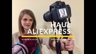 HAUL ALIEXPRESS ESPECIAL VIAJES / PALO SELFIE PARA CANON?