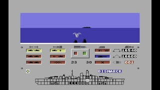 Bismarck - The North Sea Chase (C64)