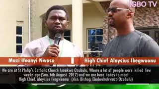 Interview of Bishops of ozubulu