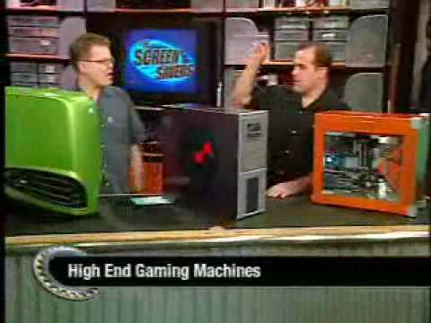 The Screen Savers - Ultimate Hardcore Gaming PCs