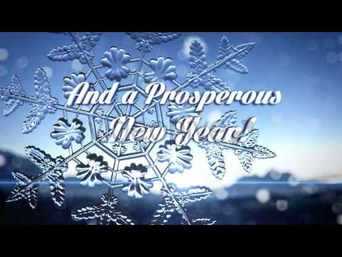 Winter Themed Holiday Corporate Greetings