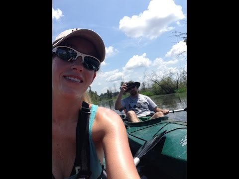 Kayaking Okefenokee Swamp