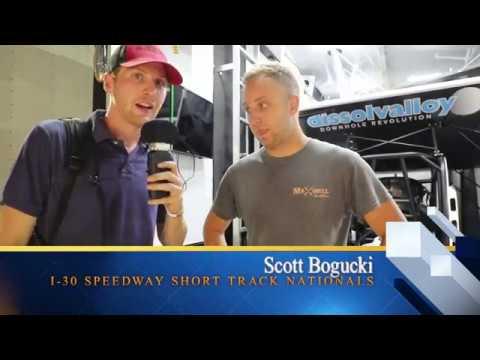 Scott Bogucki Interview At I-30 Speedway Short Track Nationals.