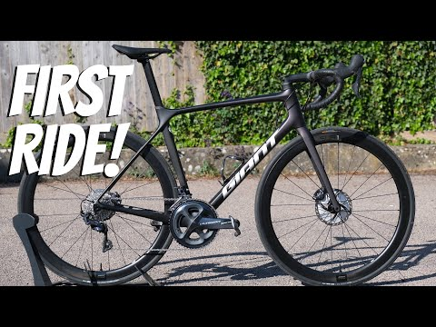 2021 Giant TCR Advanced Pro 1 Disc FIRST RIDE IMPRESSIONS