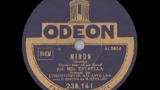 Hot from Martinique (1930) - Alexandre Stellio: NINON