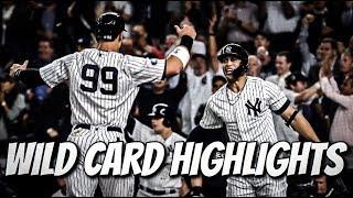 Yankees Highlights   AL Wild Card Game 2018 (vs A's)