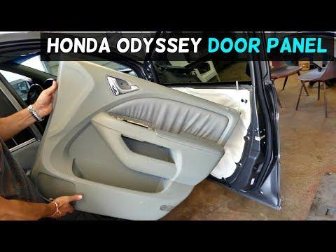 HONDA ODYSSEY FRONT DOOR PANEL REMOVAL