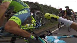 GoPro:Cycling Crashes/Fails Compilation -Tour de France-La Vuelta