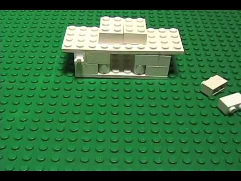 How to Build a Lego House - Little White House Brick Animation - YouTube