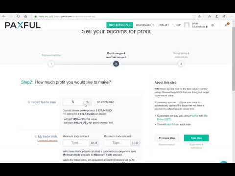 Profiting With Bitcoin For Paypal Payments On Paxful