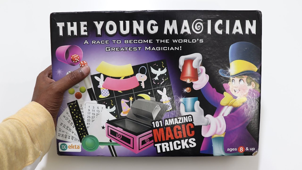 The Young Magician 101 Amazing Magic Tricks Unboxing and Testing – Chatpat toy tv