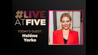 Gambar cover Broadway.com #LiveatFive with Heléne Yorke of THE OTHER TWO