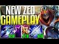 NEW ZED UPDATE IS HERE!! IS HE FINALLY OP?? Season 9 Zed Rework Gameplay - League of Legends