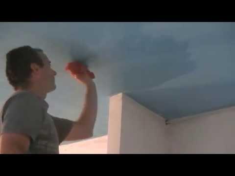Quitar hongos humedad del techo (forgado)