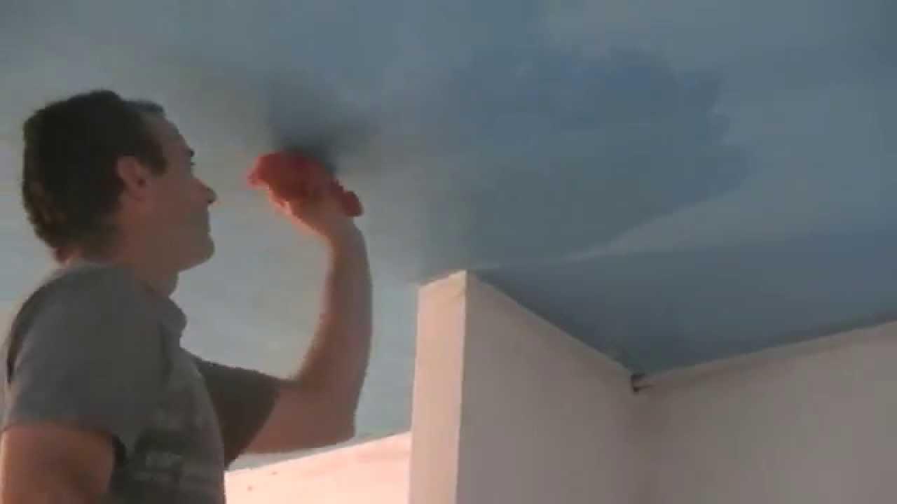 Quitar hongos humedad del techo forgado  YouTube