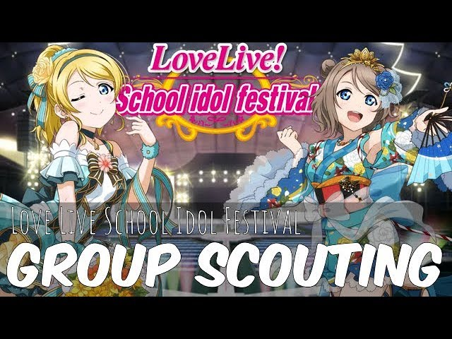 ☆[Games] LLSIF Group Scouting @ Sakuracon☆