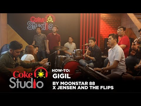 """Coke Studio PH How-To: """"Gigil"""" by Moonstar88 x Jensen and the Flips"""