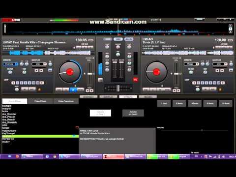 Champagne Showers - LMFAO (Virtual DJ) Remix