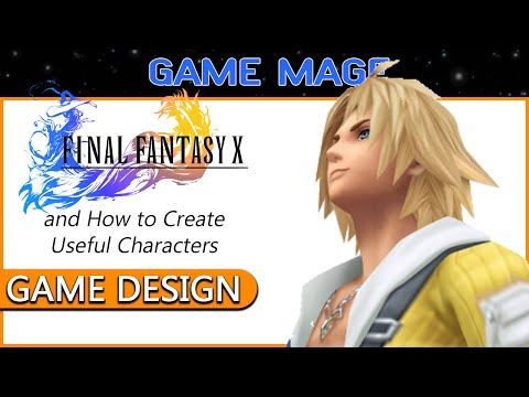 GAME DESIGN: Final Fantasy X - How to Design Useful Characters