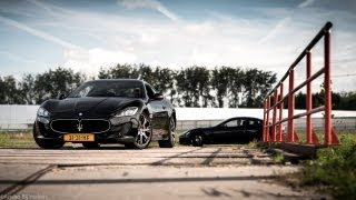 2013 Maserati GranTurismo Sport & MC Stradale Review - English Subtitled - www.hartvoorautos.nl