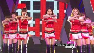 【TVPP】After School - BANG!, 애프터스쿨 - 뱅! @ Show Music Core Li...
