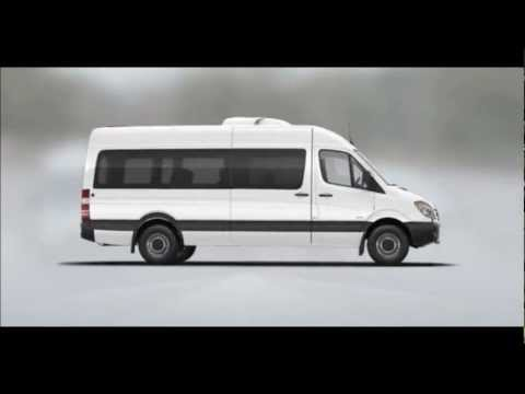 nueva mercedes benz sprinter 2013 linea ejecutiva el youtube. Black Bedroom Furniture Sets. Home Design Ideas