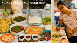 Indian Guest Dinner Menu/ Indian Party Lunch/Dinner Menu/Special Lunch/Dinner Ideas For Guest