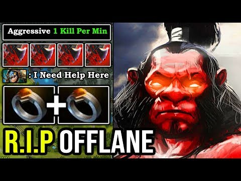 HOW TO OFFLANE AXE IN 7.24 With 2x Ring Of Protection + Super Aggressive Call 100% Deleted ALL DotA2