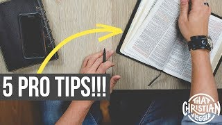 How I Study the Bible // 5 Practical Bible Study Methods
