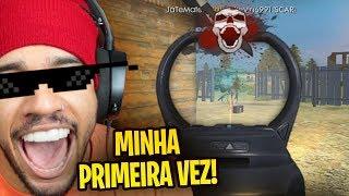 DANDO UM PAU EM TODO MUNDO NO FREE FIRE!!! (primeira gameplay)