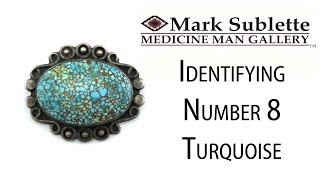 Native American Turquoise Jewelry: How to Identify Genuine Number 8 Turquoise in Indian Jewelry
