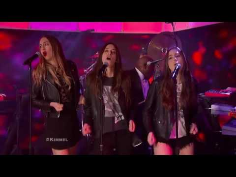 "HAIM and Morris Day Perform ""Jungle Love� 2015"