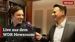 Livestream: Blick in die WDR-Nachrichtenzentrale | WDR aktuell