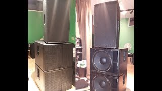 The Box Pro Achat 115 Subwoofers!