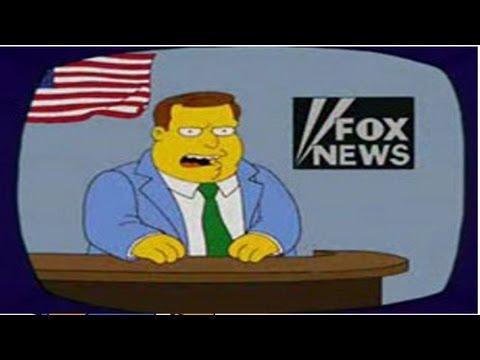 The Simpsons vs Fox News