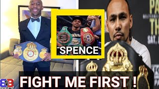😳 KEITH THURMAN TRYING TO BLOCK ERROL SPENCE VS YORDENIS UGAS UNIFICATION BOUT ? BEAT ME FIRST UGAS