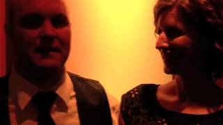 Bride & Groom talk about The Fever at their wedding 2 years earlier...