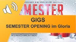 GIGS 19.04.17 SEMESTER OPENING im Gloria Landau