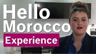 Bosch Security Systems EXPERIENCE center   Hello Morocco