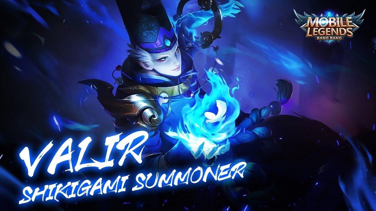 Valir New Skin | Shikigami Summoner Mobile Legends: Bang Bang!