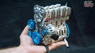 BUILD YOUR LITTLE ENGINE - All Metal Mini Engine